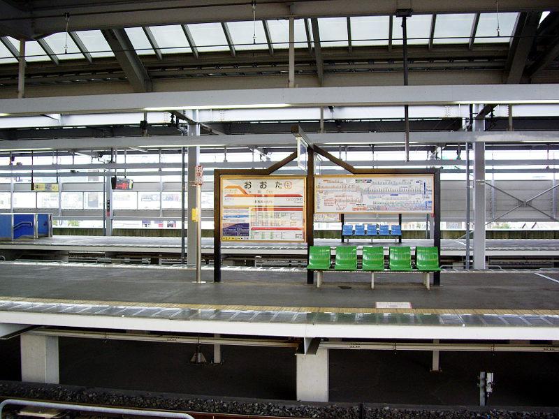 太田駅前2013-1203