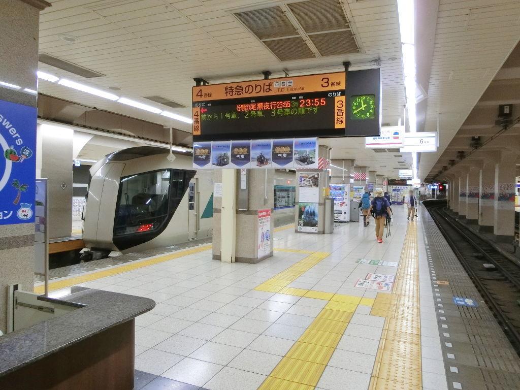 東武の夜行列車。尾瀬夜行23:55・2018夏-1106