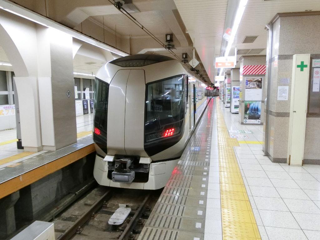 東武の夜行列車。尾瀬夜行23:55・2018夏-1107