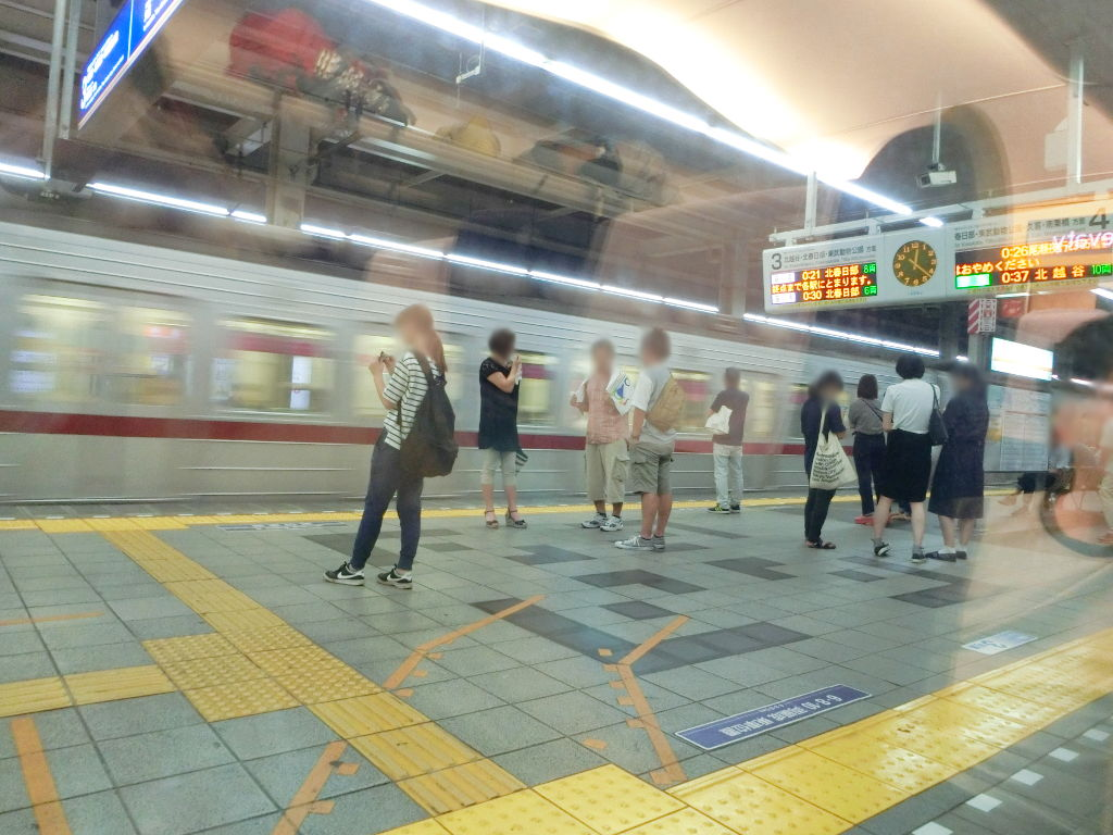 東武の夜行列車。尾瀬夜行23:55・2018夏-1119