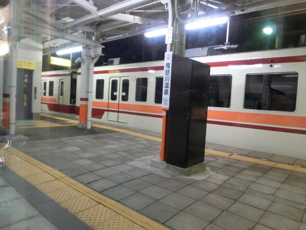 東武の夜行列車。尾瀬夜行23:55・2018夏-1122
