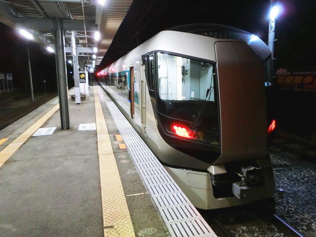 東武の夜行列車。尾瀬夜行23:55・2018夏-1128
