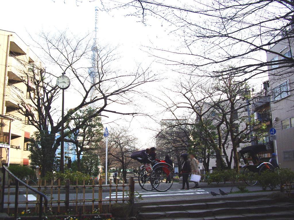 東京都電で行く東京スカイツリー2012-1013