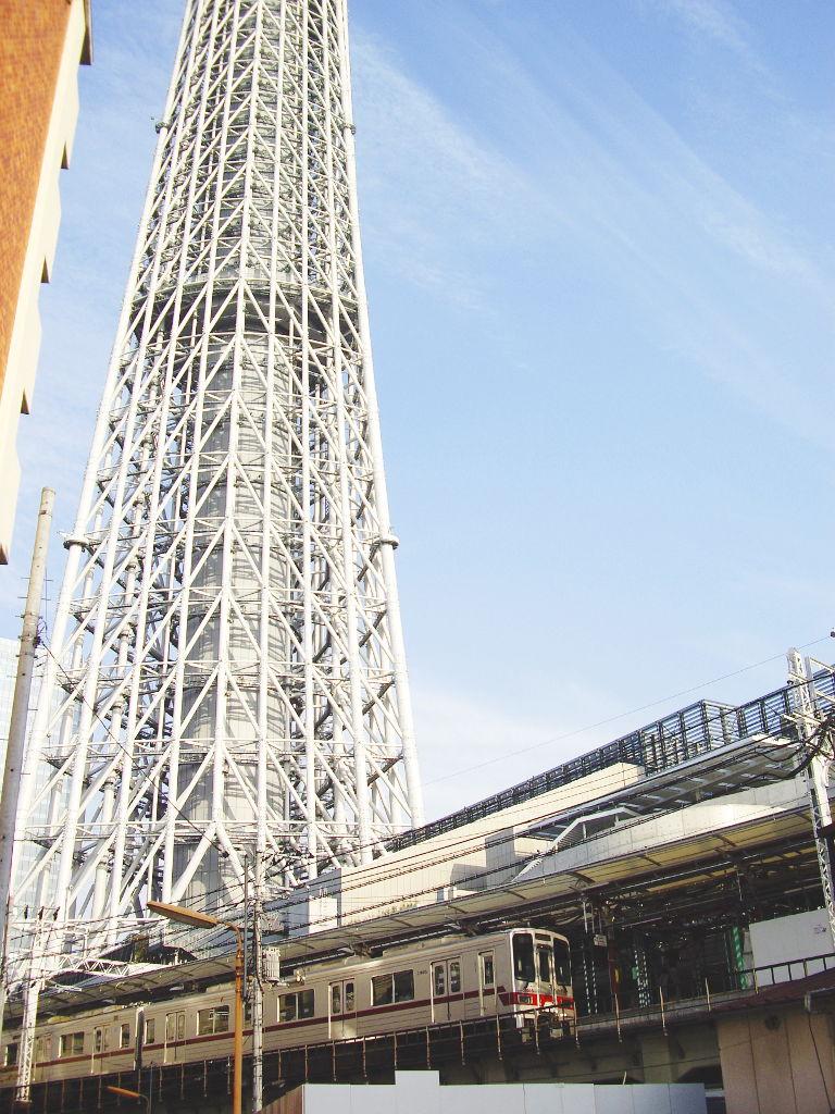東京都電で行く東京スカイツリー2012-1020