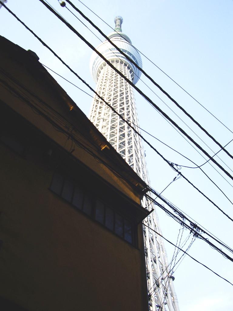 東京都電で行く東京スカイツリー2012-1023
