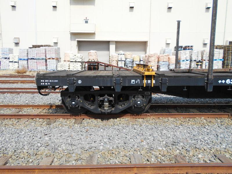 仙台埠頭駅とレール運搬列車2017春-7215