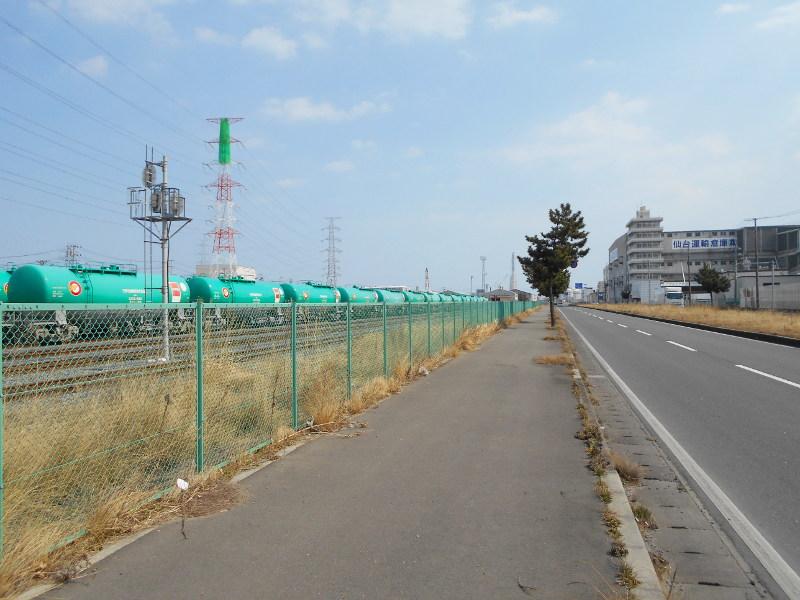 仙台港駅とコンテナ列車2017春その1-7301