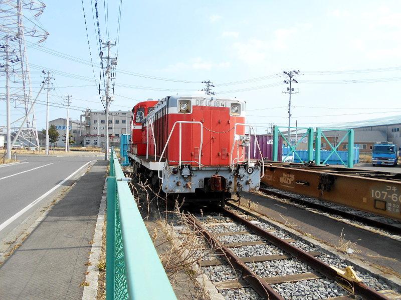 仙台港駅とコンテナ列車2017春その1-7320