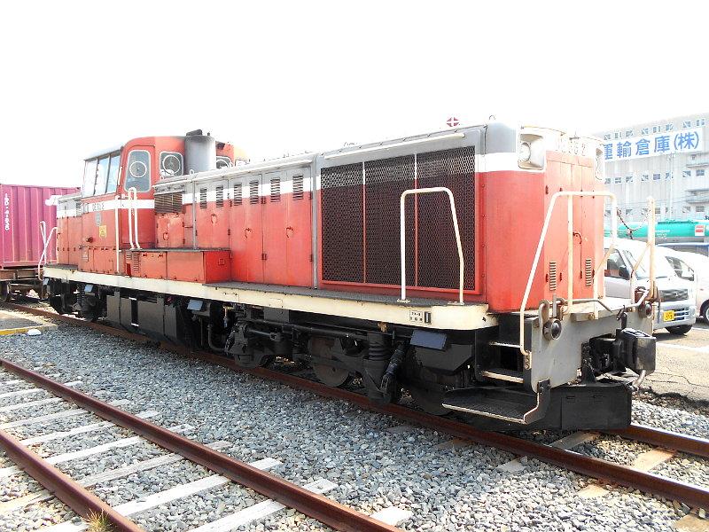 仙台港駅とコンテナ列車2017春その2-7418