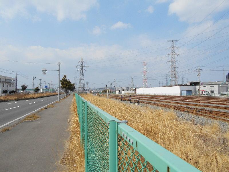仙台港駅とタンク列車2017春-7109