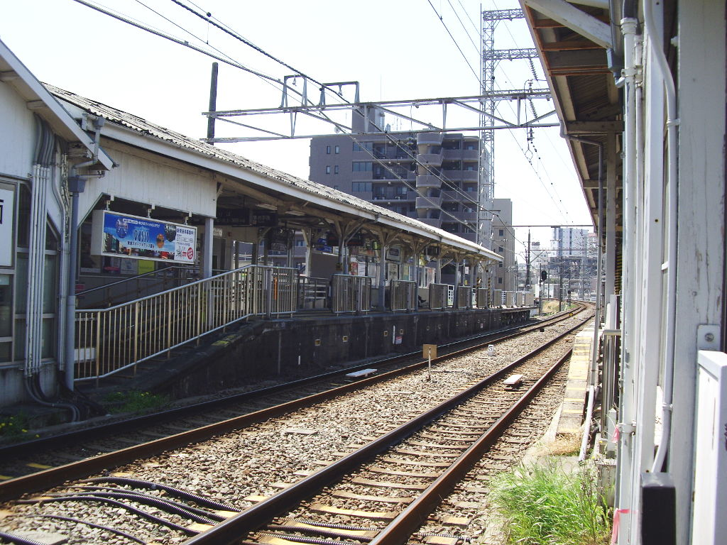 東急池上線・桜の石川台2009春-1105