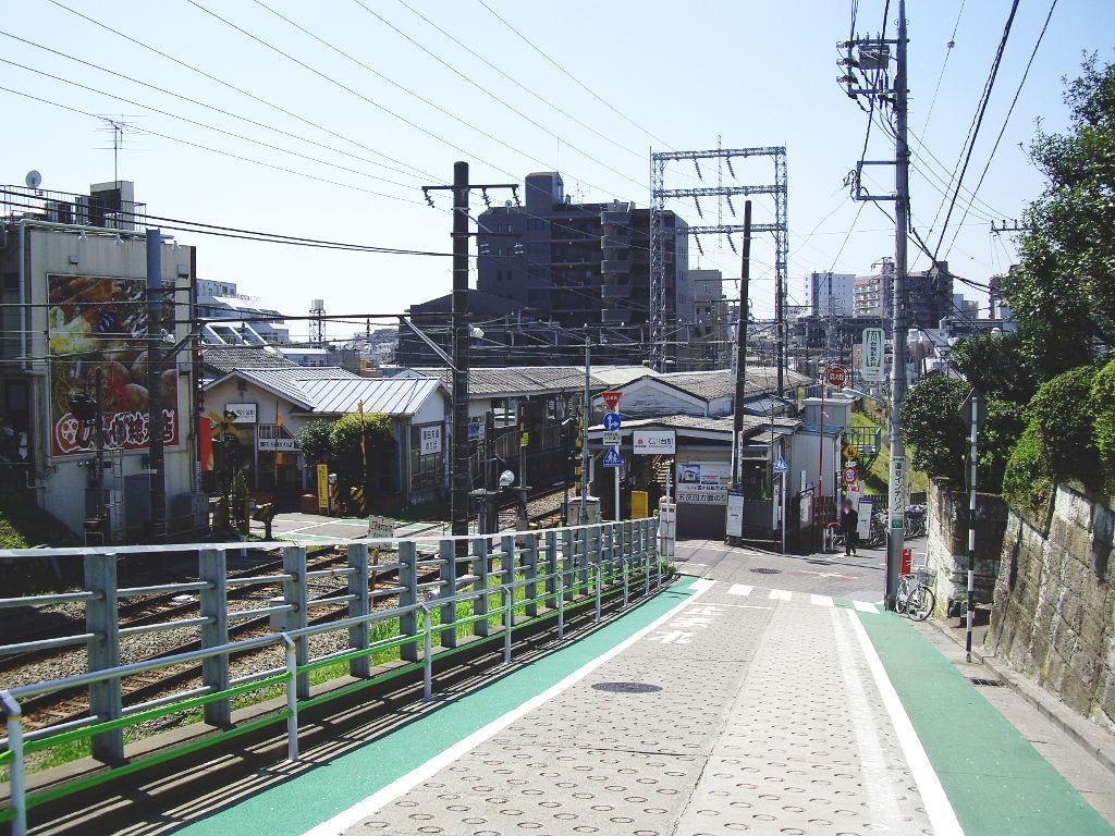 東急池上線・桜の石川台2009春-1108