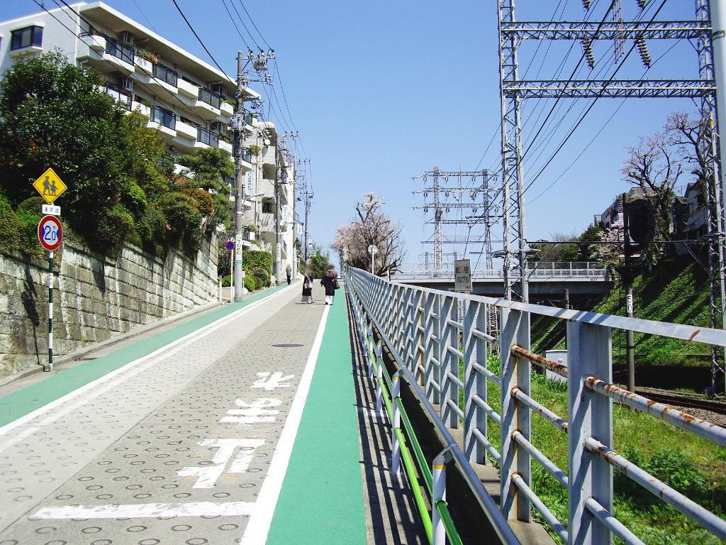 東急池上線・桜の石川台2009春-1109