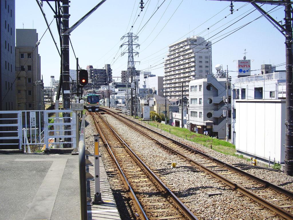 東急池上線・桜の石川台2009春-1122