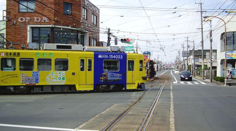 豊橋鉄道・井原カーブ2012-1002