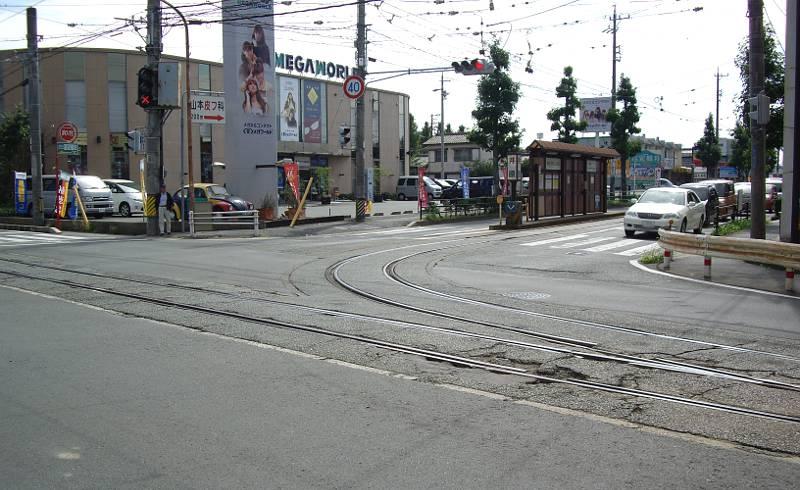 豊橋鉄道・井原カーブ2012-1003