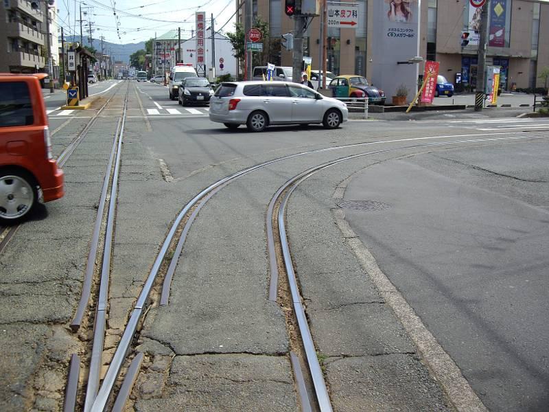 豊橋鉄道・井原カーブ2012-1004
