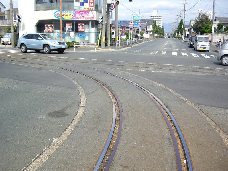 豊橋鉄道・井原カーブ2012-1005