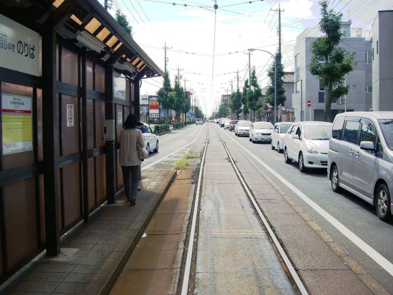 豊橋鉄道・井原カーブ2012-1006